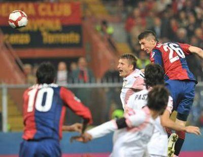Sassa Bocchetti scores his first goal in Serie A
