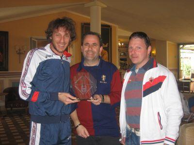 Marco Rossi: Genoa Club Amsterdam Genoano of the decennium: 2000-2010