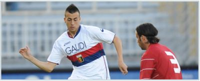 Stephan el Shaarawy, scorer of the deciding goal against Empoli