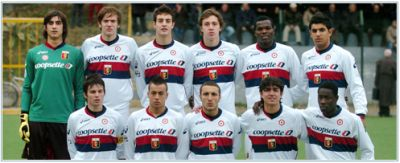 Primavera-team of Genoa, champions of Italy 2009-2010