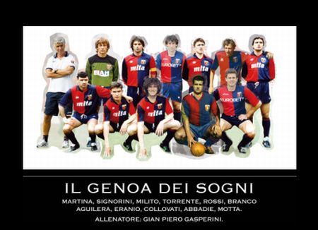 Best team of Genoa ever !!