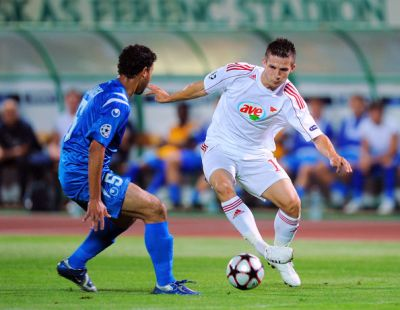 Gergely Rudolf, striker of the Hungarian national team and ex-layer of Debreceni