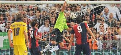 Goalkeeper Frey again saved Fiorentina