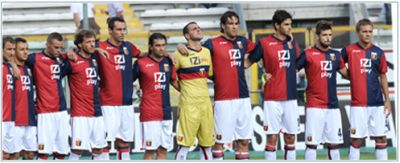 The line-up against Parma last Sunday