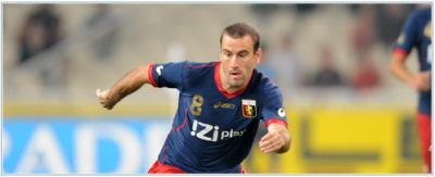 Rodrigo Palacio is just as last season one of the best players of Genoa