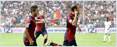 Rodrigo Palacio after his opening-goal against Bari