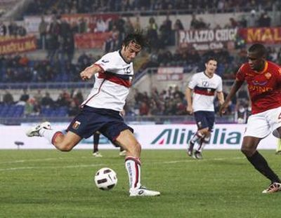 Luca Toni back in Rome against his former team: A.S. Roma