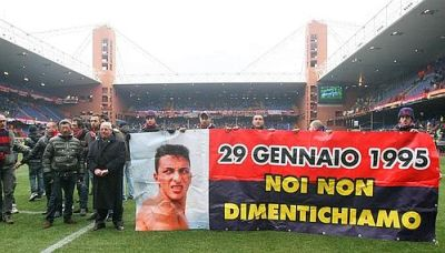 Genoa-fans remembered Claudio Spagnolo, 16 years later