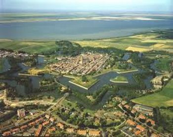 Naarden from the air