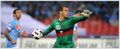 The best player of Genoa against Napoli: goalkeeper Eduardo