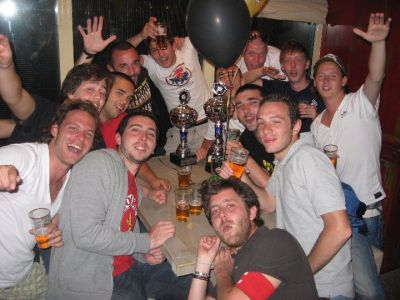 Unless the fact the Genoani beat the Dutch by penalties the boys still be good friends