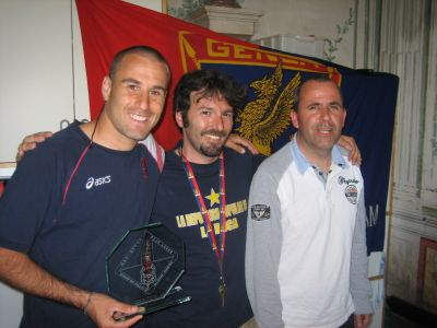 Rodrigo Palacio Genoa Club Amsterdam Genoano of the year 2009-2010
