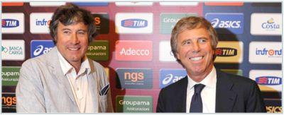 Alberto Malesani and our President Enrico Preziosi
