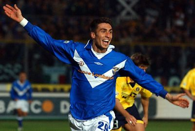 Andrea Caracciolo as we hope to see him a lot: celebrating a goal