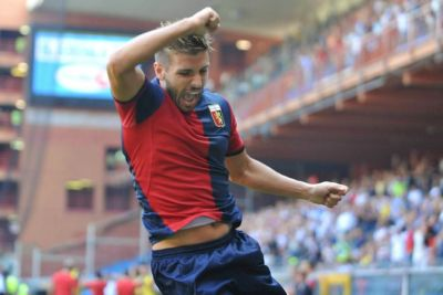 Miguel Veloso celebrates the first goal of the season 2011/2012