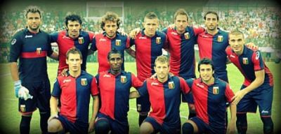 The team of Genoa in the season 2011/2012