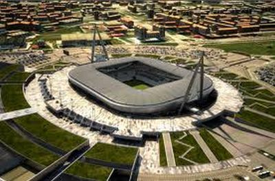 The new stadium of Juventus