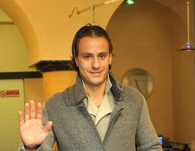 Alberto Gilardino at the medical centre in Albero, the best area of Genova near the see in which we play United in the name of Genoa every year