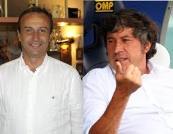 Pasquale Marino (left) and Alberto Malesani (right)