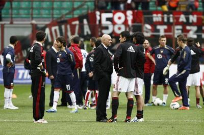 The players of Milan and Genoa talk about the situation after stopping their warming-up