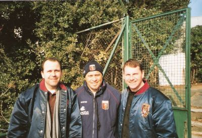 Together with Serse Cosmi our coach in 2004/2005 and now coach of Lecce