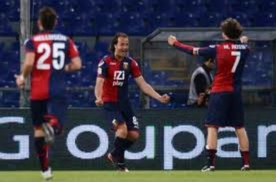 Marco Rossi the assistman of Gilardino's goal