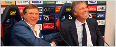 Pietro lo Monaco our general director with Enrico Preziosi