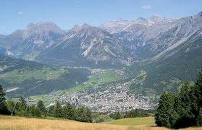 Bormio in North Italy (Lombardia)