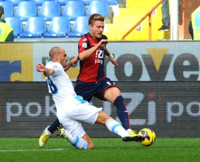 Ciro Immobile scored the first goal against Napoli