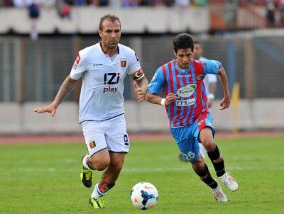 Soccer: serie A, Catania-Genoa