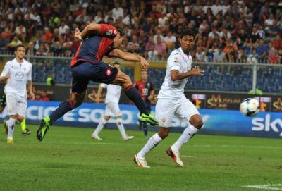 Soccer: serie A, Genoa-Fiorentina