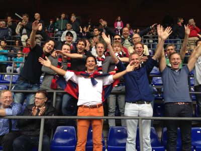 The Dutch players in Marassi