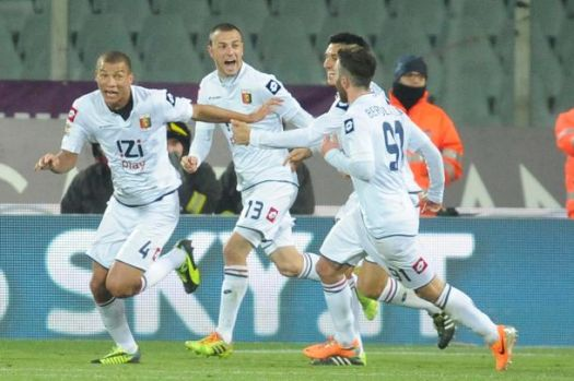 Fiorentina vs Genoa - Serie A TIM 2013/2014