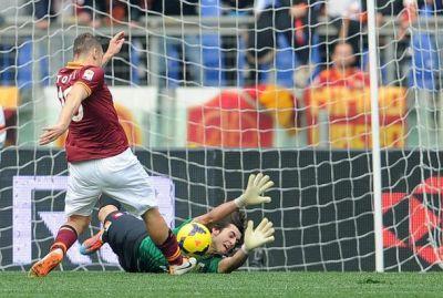 Soccer: serie A; Roma - Genoa