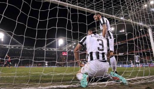 goal tegen Juve