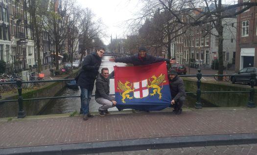 bandiera sul canale
